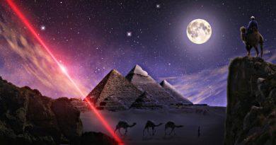 गीजा के पिरामिड का रहस्य